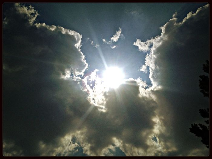 Skyporn Magic Sky Sun And Clouds