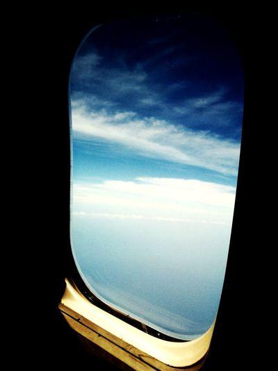 Yeah , im fly !! Airplane Window AirPlane ✈ Beautiful Sky Skyviewers Window Light