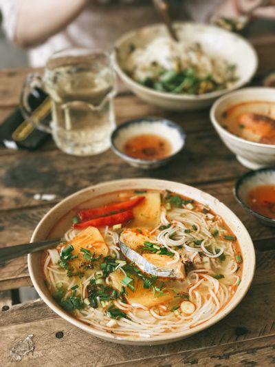 Vietnamese fish vermicelli