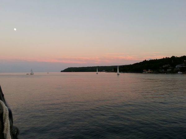 Watching the boats sail off into the sunset. Halifax Harbour Cruise Taking Photos Sailboats Relaxing Serenity Moonlight