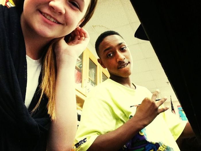 Me And My Girl Cierra In Class