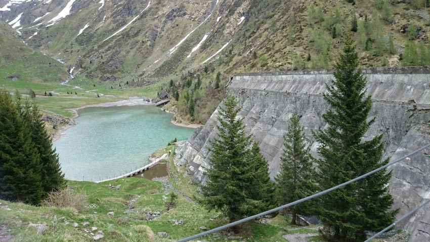 Spring Water Beautiful Nature Mountains Italy