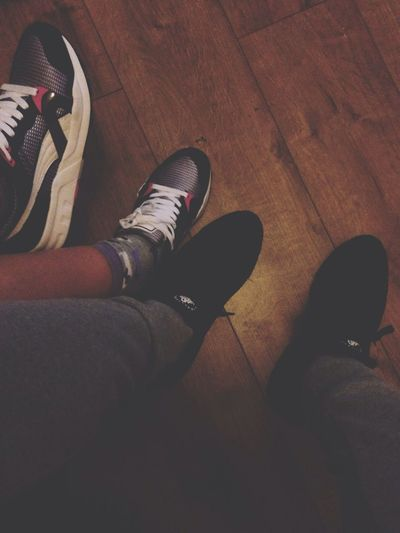 You know what.. Huarache Nike Puma Trinomic