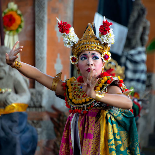 Art Arts Culture And Entertainment Bali Bali, Indonesia Beautiful People Beauty Culture Of Indonesia Dance Dancer EyeEm From My Point Of View Indonesia_photography One Person Play Portrait Religion Religious  Stage Costume Stage Make-up Taveling Theater Tourist Tourist Attraction  Traditional Clothing Travel