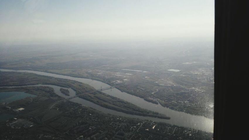 Plane Sky Taking Photos From An Airplane Window Trip