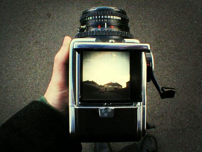 Taking Photos Hasselblad