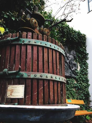antiques wine press Winepress Old Austria Grapes, Vineyard, Wine, Winery, Soft, Traditional Antique Wine Winemaking Plant Tree Architecture Built Structure Day No People Nature Building Exterior Old Building Low Angle View Wood - Material Growth Obsolete Rusty Sky Metal Outdoors House Abandoned