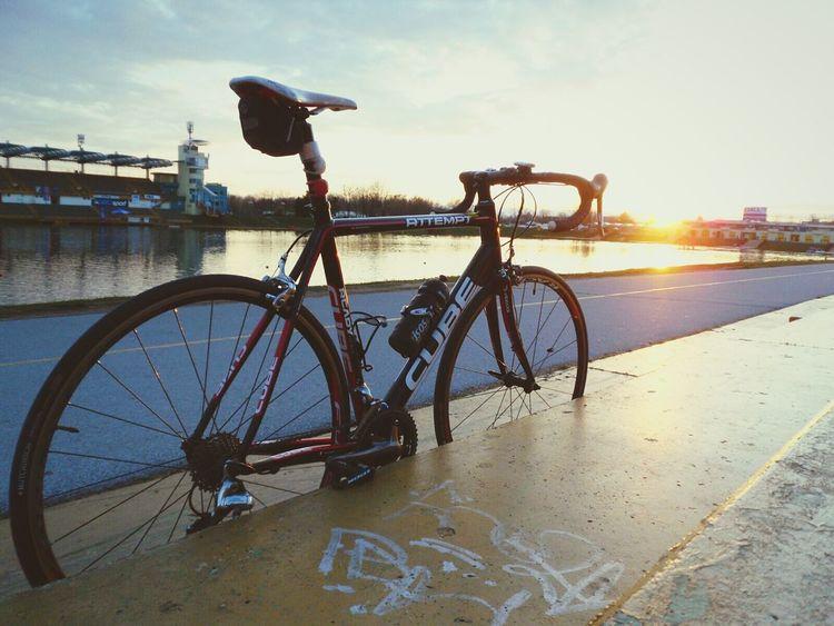 My man's bike! Cubebikes Cyclingphoto Love Sea Happy Croatia ♡ Friends Happiness Roadtrip Beautiful View Exercise
