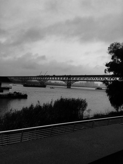 Suicide Bridge Sky Cloud - Sky Water Nature Bridge Architecture Built Structure Silhouette Bridge - Man Made Structure No People River Connection The Architect - 2018 EyeEm Awards