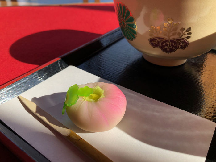 Can I really eat that? Japanese Food Japanese Tea Ceremony Traditional Food Food And Drink Wellbeing Tray Freshness Indoors