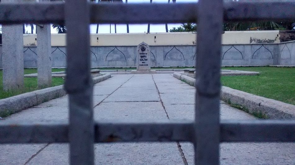 Grave Stone Tipusultan Architecture Bridge - Man Made Structure Building Exterior Built Structure Day Grass Mysore Nature No People Outdoors Sky The Way Forward Tree