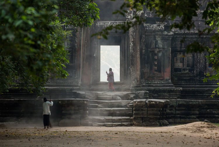 Step to the light Ancient Ancient Civilization Angkor Angkorwat Architecture Built Structure Cambodia Culture Dusty Hindu Jolie Khmer Light Religion Religious  Siemreap Steps Stone Sweeping Temple Worldheritage