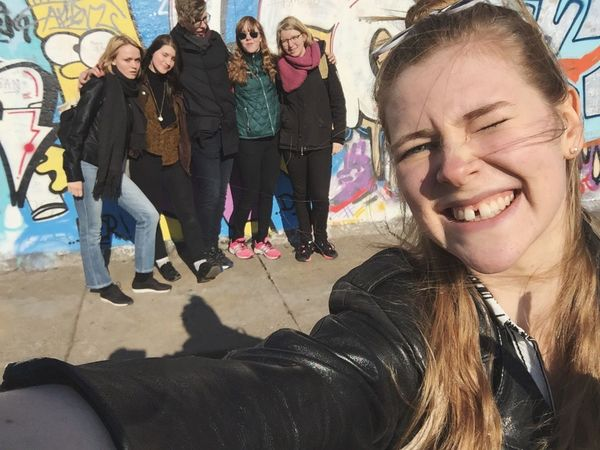 Squad goals Berlin Hanging Out Hello World Flawless