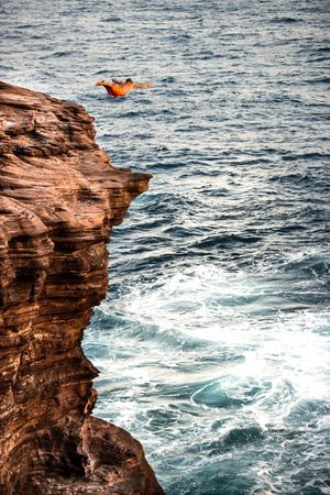 Live For The Story Sea Rock - Object Beauty In Nature Cliff Outdoors Nature Landscape Scenics Horizon Over Water Diving Cliff Jumping Hawaii Hawaii Life Nikonphotography Calimadephotography Luckywelivehawaii Venturehawaii HiLife Extreme Sports