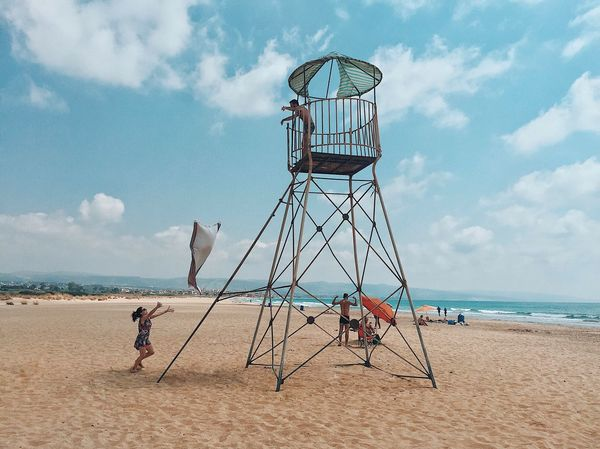 Beach Sky Sea Cloud - Sky Lebanon EyeEmNewHere EyeEmNewHere