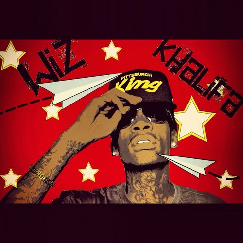 Follow Me Graphic Design Wiz Khalifa My Twisted Imagination