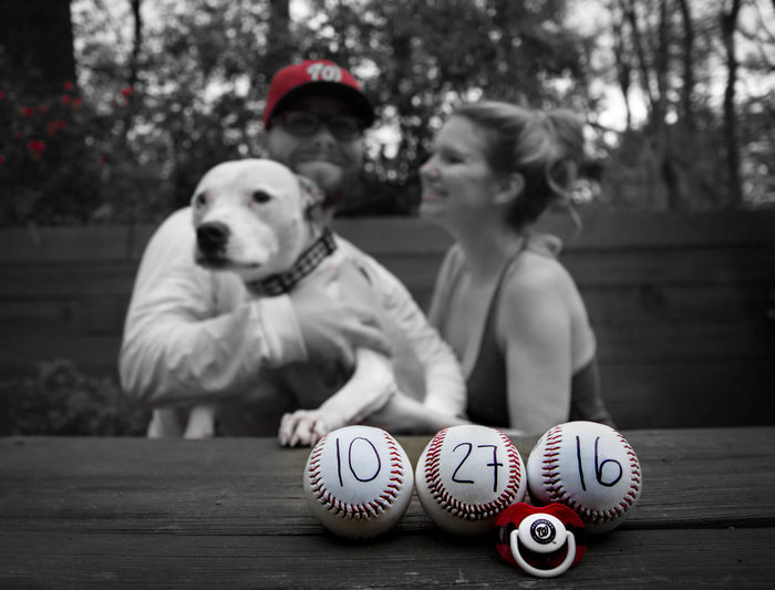Baby ❤ Baby Announcement Family❤ New Addition To The Family Baseball ⚾ Nationals October Dog Check This Out Enjoying Life Hello World Mother And Father Puppy Love