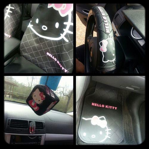 Inside My Car Hello Kitty