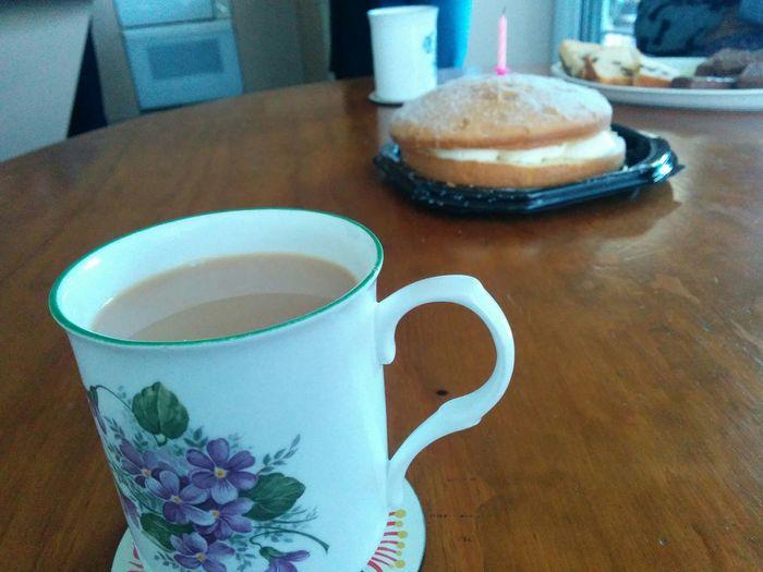 Happy Birthday Nan Coffee And Cake Tea And Cake