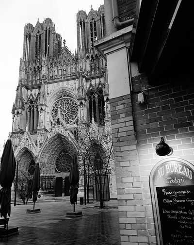 Architecture Religion History Travel Destinations Building Exterior Place Of Worship Built Structure Day France 🇫🇷 Reims Cathedral Reims , France Low Angle View Likeforlikes Lifestyles Photography Themes Photography Spirituality Place Of Worship Theme Photographer France🇫🇷 PicturePerfect Champagne Gotic Architecture People