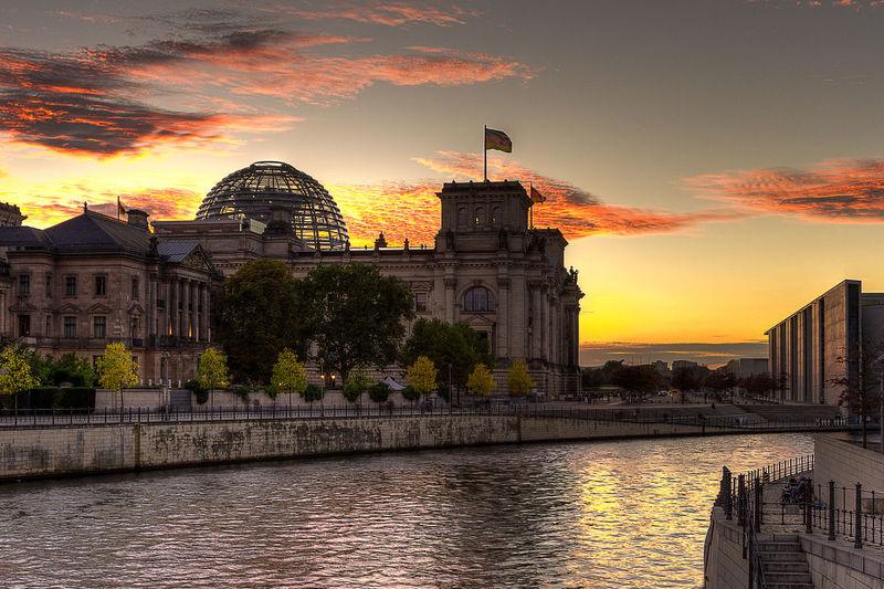Sunset Berlin