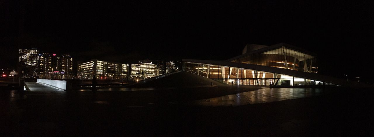 Norwegian Opera by night