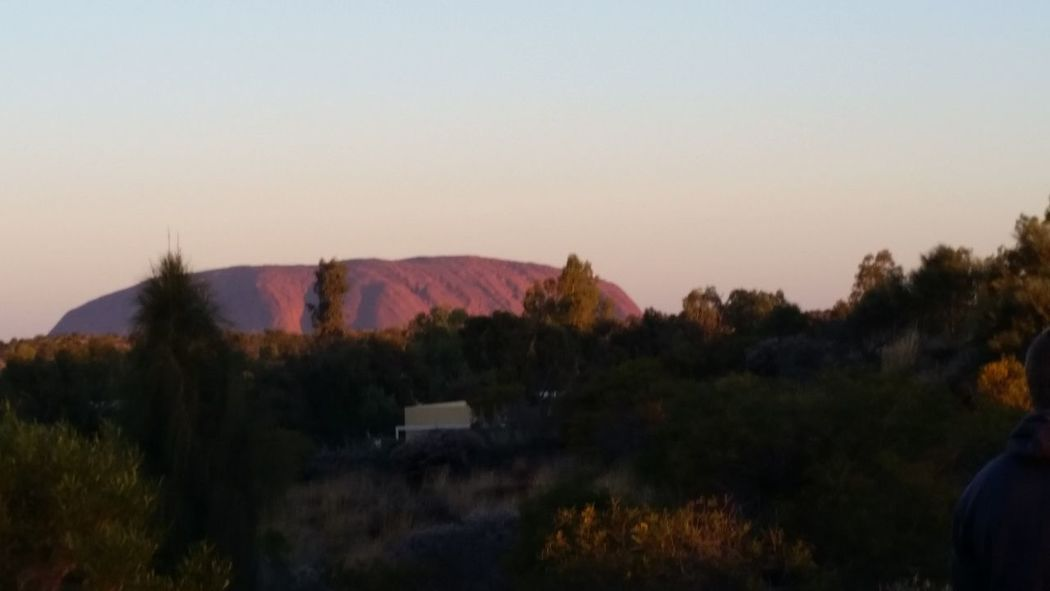 51 days driving around Australia Day 9 Uluru Beauty In Nature Landscape Scenics Sunset Tourist Destination Tranquil Scene Tranquility Travel Australia