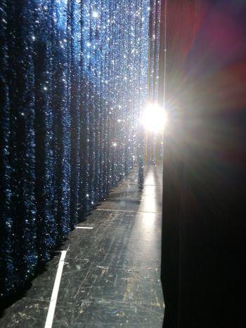 Behindthescenes Theater Blue Light Lametta Burgtheater Visual Feast
