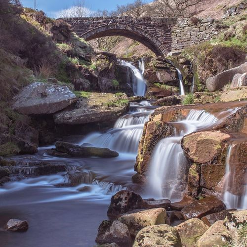 3 Shires Head 3 Shires Head Peak District Landscape Peak District Northern England Peak District National Park Water Waterfall Beauty In Nature Rock Rock - Object Blurred Motion River Stream - Flowing Water