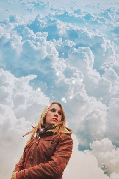 Clouds And Sky Cloud Girl Portrait Imagination Dreaming Dream clouds travelers 2