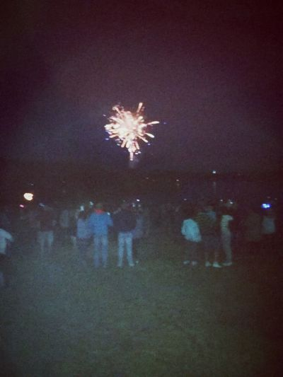 First Eyeem Photo Random Fireworks Lake Water Celebration Inner Power