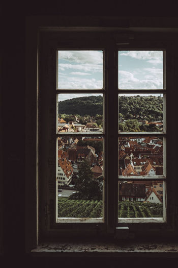 Secret Window Travel Photography View Wanderlust Architecture Cityscape Day Indoors  Landscape Looking Through Window Scenics Village Window