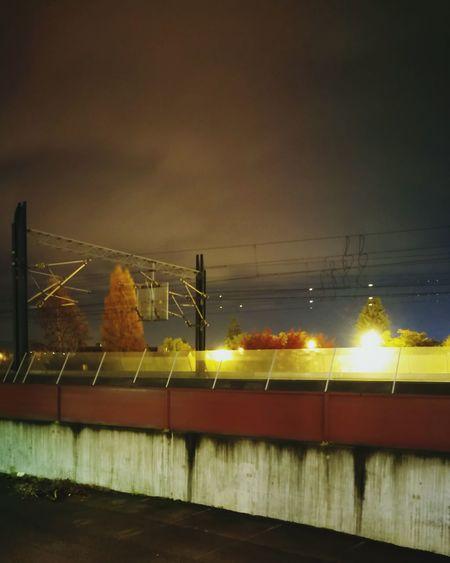 Lillestrøm Lillestrøm Train Railway Bridge - Man Made Structure Night City Illuminated Outdoors Sky No People Architecture Night City Water Illuminated Outdoors Sky No People Architecture First Eyeem Photo