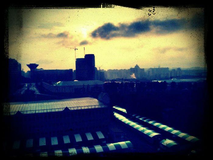 Вид с балкона\окна