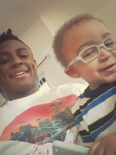Baby Bro & I.
