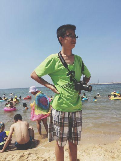 Being A Beach Bum Sunshine Sandcastles Sea Swimming Enjoying The Sun