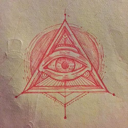 THE EYE. Patsarunink Graphic LINE Circle Dot Tattoodesign Tattoo Tatt Sketch Triangularism Detach Tattoolife Comingsoon Apprentice Triangle Triangularism Dotconnect Ray
