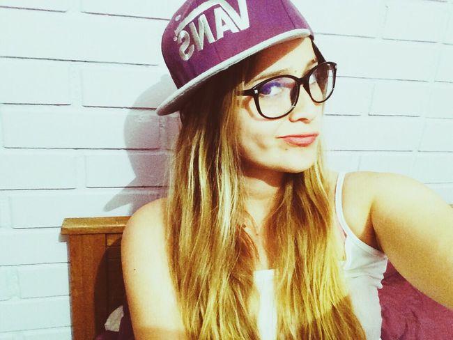 Gorra Gafas Cool Linda 💜