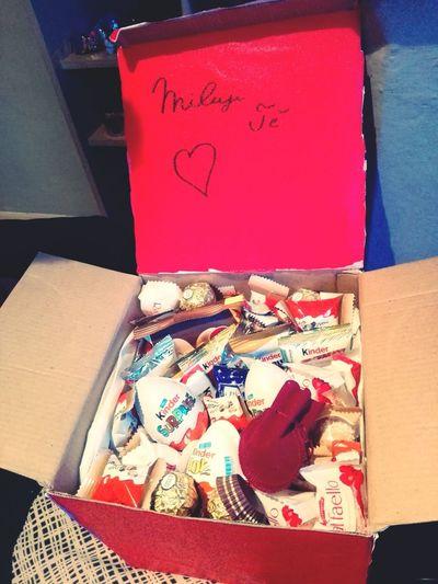 Presentformylove Love ♥ Kinderbueno  Kinderchocolate Kinder Kinder Joy  Happy :) DIY Sweet Food Magic Inlove♥ Food
