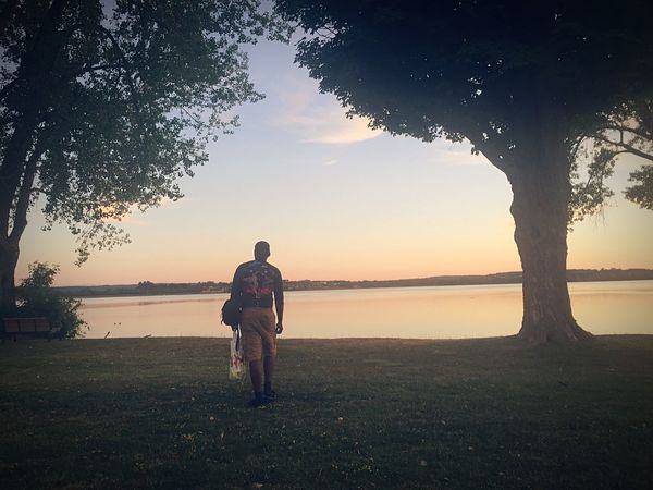 Caught the sunset and my bf.. My lucky day 💕 Rawnature Datview Syracuseny Summer Views Hello World