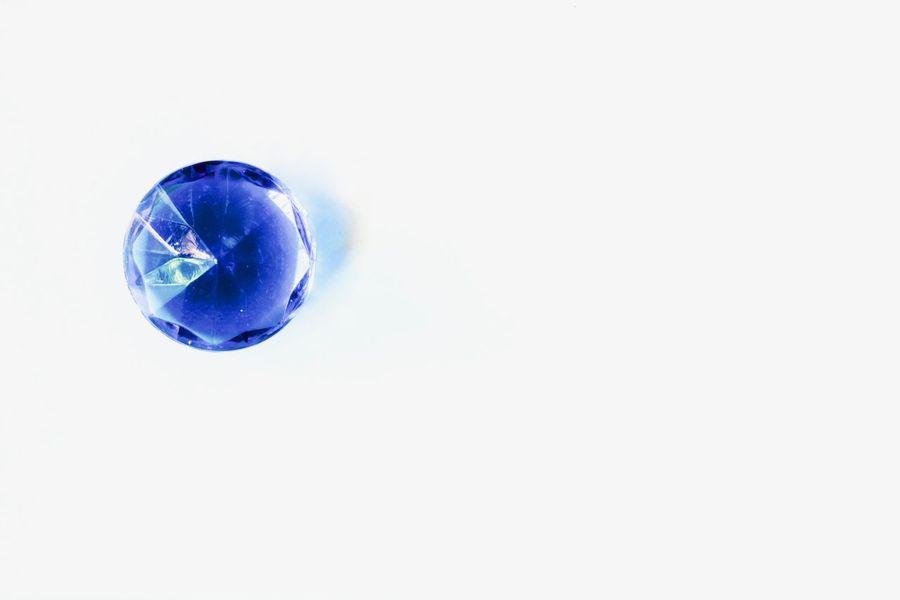 White Background Blue Studio Shot No People Close-up Fragility Day Blue Diamonds Luxury Decoration Christal  Rich Life Beautiful Diamonds Diamond Life Diamond Diamonds Accesories Hobby Plastic Design Still Life Crystal Blue Christal Indoors