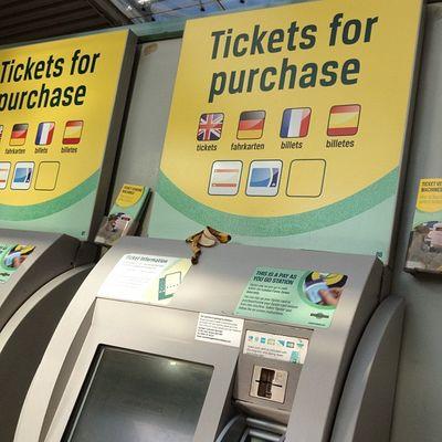 Visionsofcroydon Eastcroydon Station Ticket machine