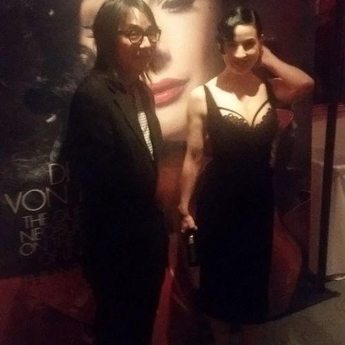 Thank you again to DorothyMannfolk for inviting me to this amazing GenLuxMagazineEvent with Ditavonteese @DitaVonTeese