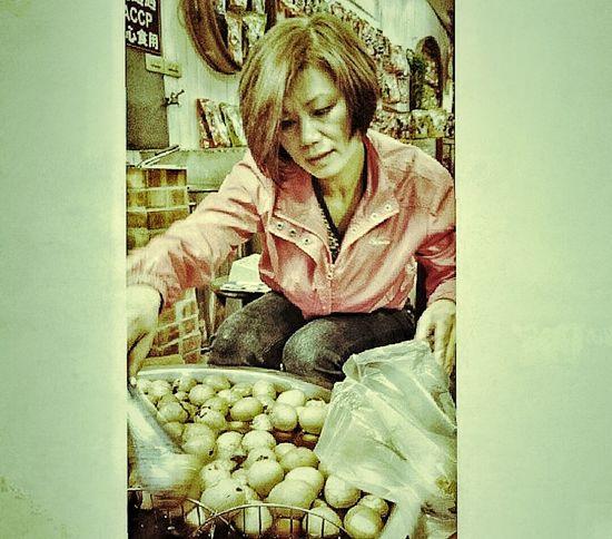 Tea Eggs Food Photography Jiufen Taiwan
