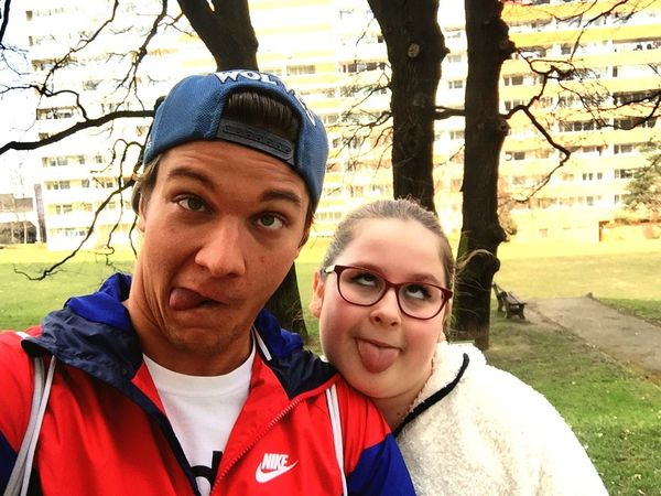 Nofilter Brotherandsister Siblings Prague♡ takova normalni rodinka