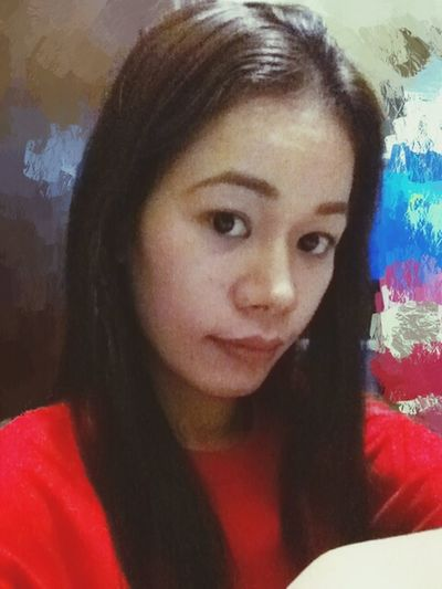 Selfieoftheday Colorsplash RedShirt  Baggyshirt