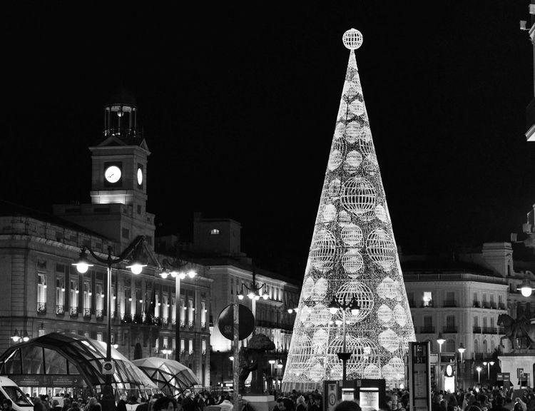 Clémence Photo Madrid Capital SPAIN Life NAVIDAD2015