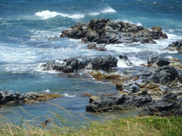 Rocks Along the