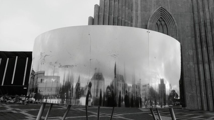 Bent Iceland Architecture Black&white