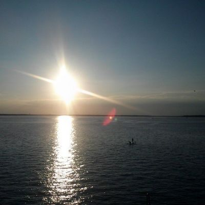 Sunset on the bay... Ocmd OCCoolPix Oceancitycool